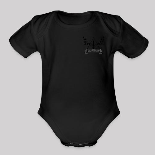 Del Infinito - Organic Short Sleeve Baby Bodysuit
