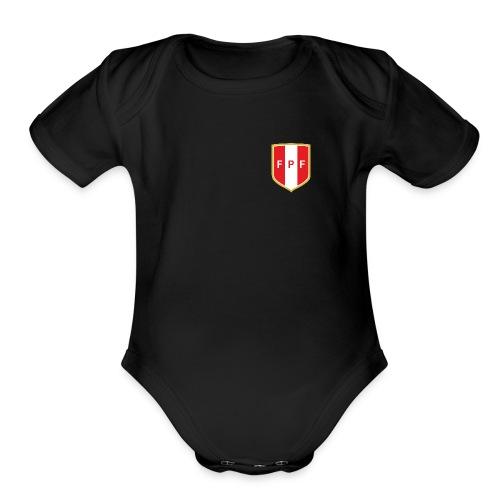 FPF New Logo - Organic Short Sleeve Baby Bodysuit