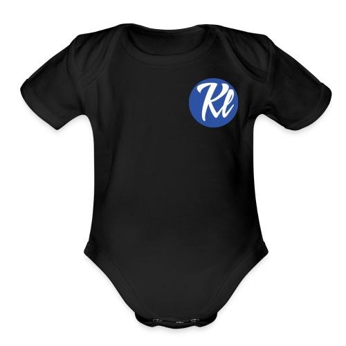 Kallum Lock - Organic Short Sleeve Baby Bodysuit