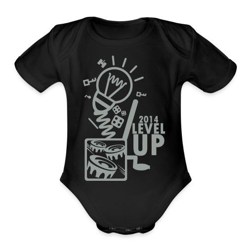 Level Up 2014 - Organic Short Sleeve Baby Bodysuit