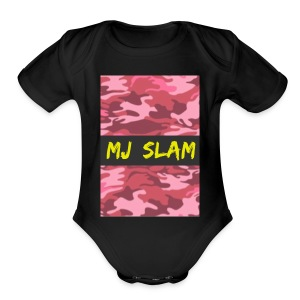 MJ Slam - Short Sleeve Baby Bodysuit