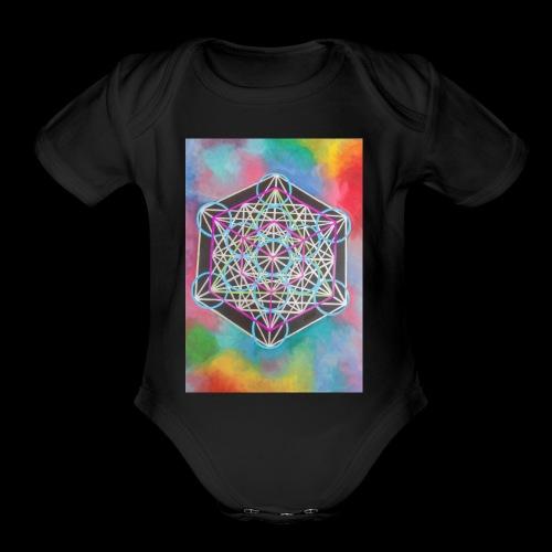 The Cube - Organic Short Sleeve Baby Bodysuit