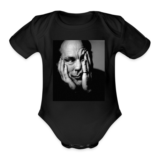 delsuional thomas - Organic Short Sleeve Baby Bodysuit