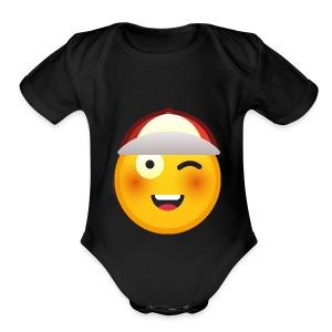 I am happy merch - Short Sleeve Baby Bodysuit
