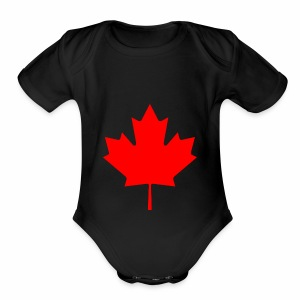 Maple Gang - Short Sleeve Baby Bodysuit