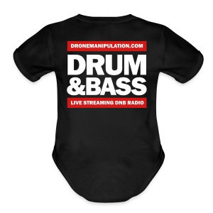 Drum and Bass - Short Sleeve Baby Bodysuit