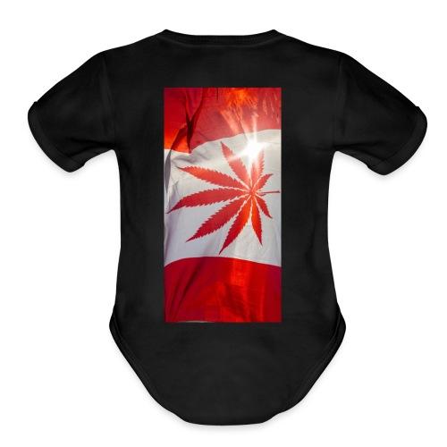 MR_Chubbs - Organic Short Sleeve Baby Bodysuit