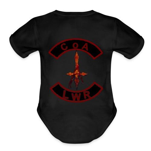 CoA/ LWR cuts - Organic Short Sleeve Baby Bodysuit