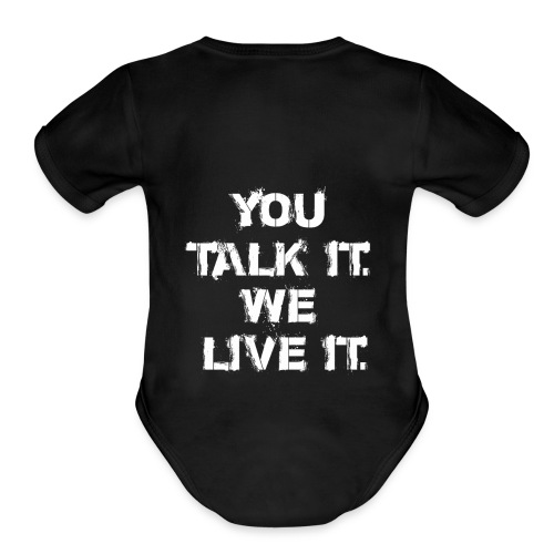 TSD png - Organic Short Sleeve Baby Bodysuit