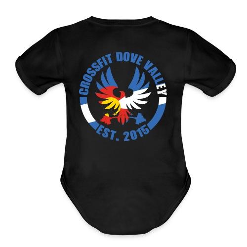CFDV CO - Organic Short Sleeve Baby Bodysuit