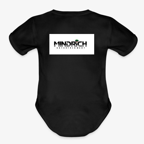 MindRich Elite - Organic Short Sleeve Baby Bodysuit