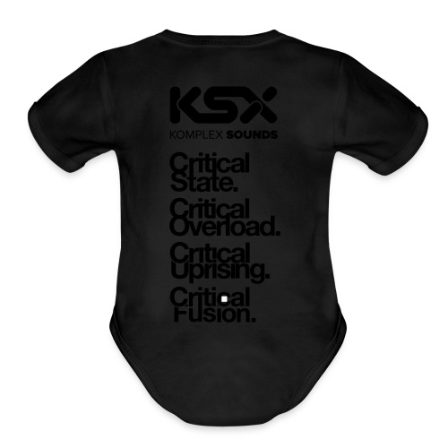 Komplex Labels - Organic Short Sleeve Baby Bodysuit