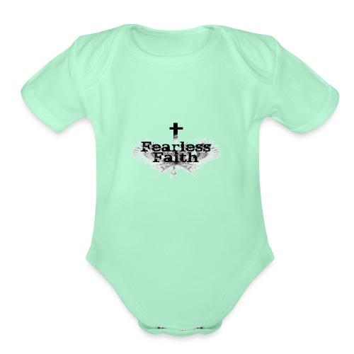 imageedit 3 4461722366 gif - Organic Short Sleeve Baby Bodysuit
