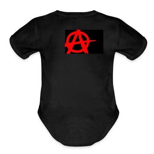 Anarchy - Organic Short Sleeve Baby Bodysuit