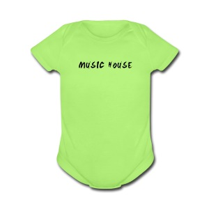 Music House - Short Sleeve Baby Bodysuit
