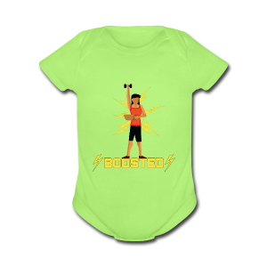 ⚡BOOSTED⚡ - Short Sleeve Baby Bodysuit