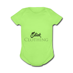 Slick Clothing - Short Sleeve Baby Bodysuit
