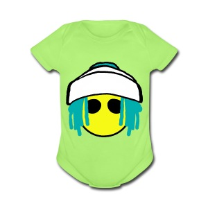 Dread Land - Short Sleeve Baby Bodysuit