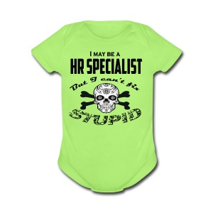 HR specialist - Short Sleeve Baby Bodysuit