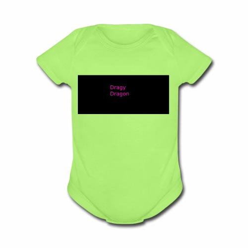 Dray - Organic Short Sleeve Baby Bodysuit