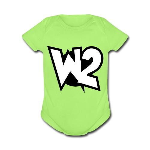 WayTwo! - Organic Short Sleeve Baby Bodysuit