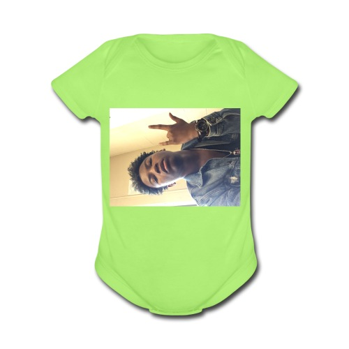 Rafeek - Organic Short Sleeve Baby Bodysuit