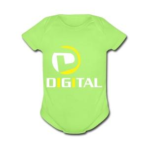 Digital - Short Sleeve Baby Bodysuit
