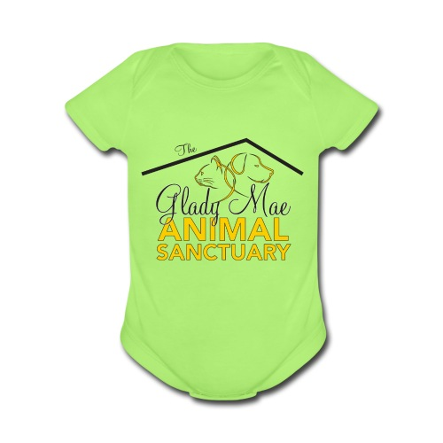 Glady Mae Sanctuary - Organic Short Sleeve Baby Bodysuit