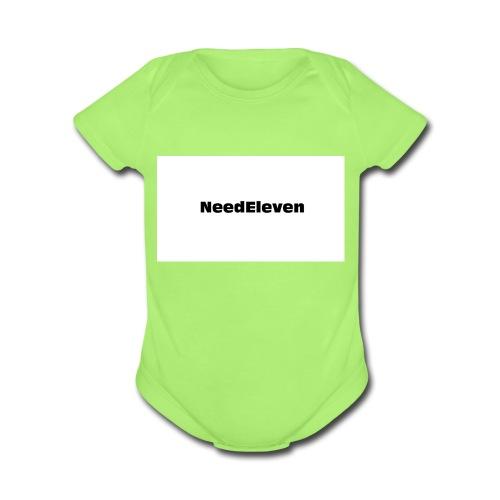 NeedEleven - Organic Short Sleeve Baby Bodysuit