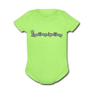CrownOnRGLG - Short Sleeve Baby Bodysuit