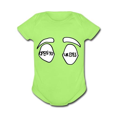 OYE - Organic Short Sleeve Baby Bodysuit