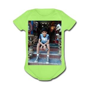 Ayushman Pokhrel's Merch - Short Sleeve Baby Bodysuit
