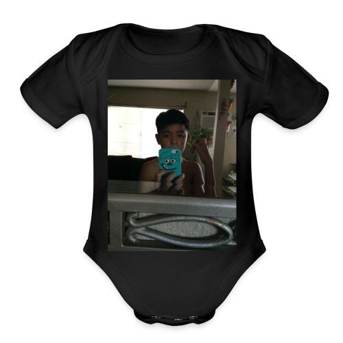 The Armando 1 - Organic Short Sleeve Baby Bodysuit