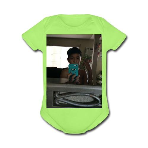 4E5FFEC5 540E 4D02 854C F58D04C30F69 - Organic Short Sleeve Baby Bodysuit