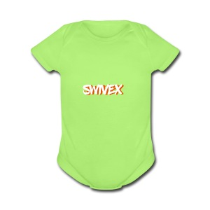 W.O. swivex line - Short Sleeve Baby Bodysuit