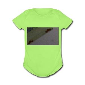 1523960171640524508987 - Short Sleeve Baby Bodysuit