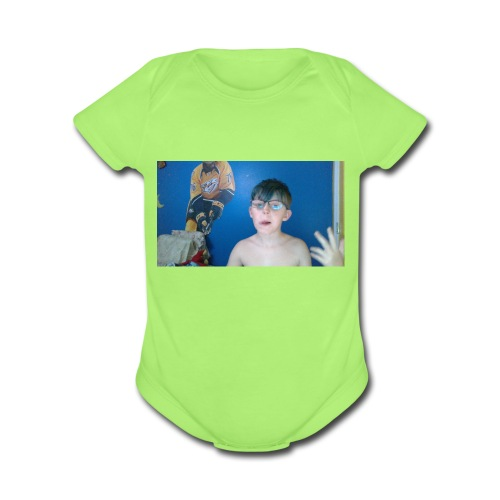 WIN 20180418 19 50 13 Pro - Organic Short Sleeve Baby Bodysuit