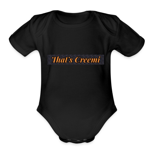 That's Creemi - Organic Short Sleeve Baby Bodysuit
