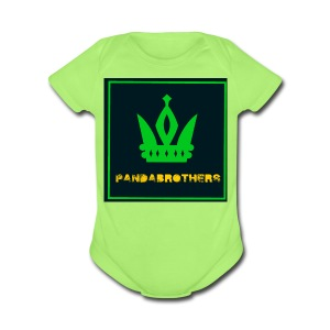 YouTube Channel gifts - Short Sleeve Baby Bodysuit
