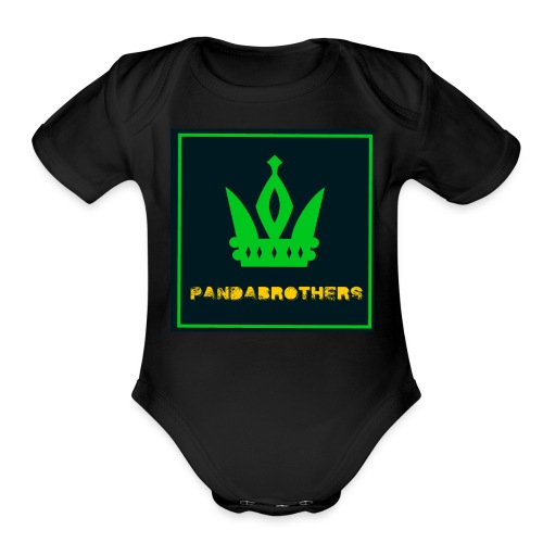 YouTube Channel gifts - Organic Short Sleeve Baby Bodysuit