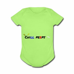 Chill man to Griffith - Short Sleeve Baby Bodysuit