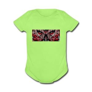 SylvesterGaming Logo - Short Sleeve Baby Bodysuit