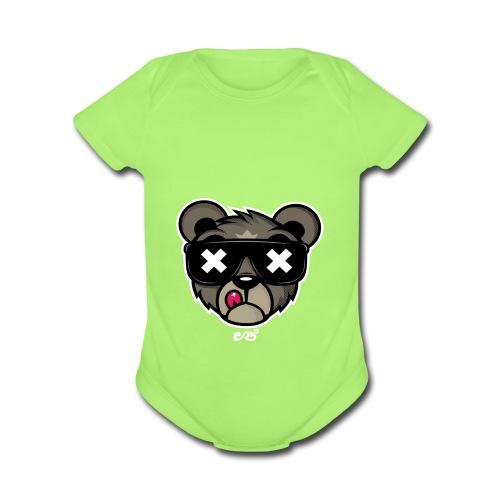 Official Heaveroo Bear - Organic Short Sleeve Baby Bodysuit