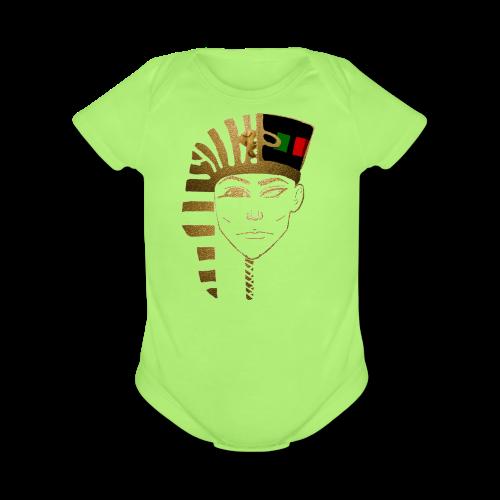 Young Pharaoh Foundation - Organic Short Sleeve Baby Bodysuit