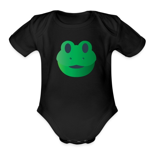 Froggy Icon - Organic Short Sleeve Baby Bodysuit