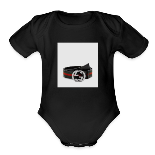 Gucci - Organic Short Sleeve Baby Bodysuit