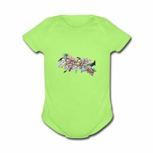 CanvasShirt - Short Sleeve Baby Bodysuit