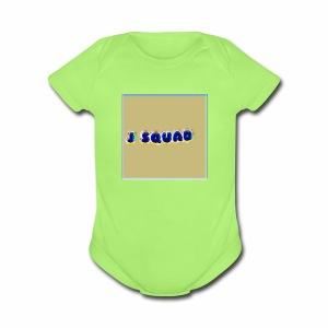 The J SQUAD RAINBOW - Short Sleeve Baby Bodysuit