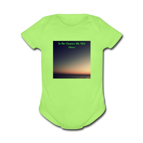 You are unique - Organic Short Sleeve Baby Bodysuit