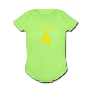 FONTECCHIO NUMBER - Short Sleeve Baby Bodysuit